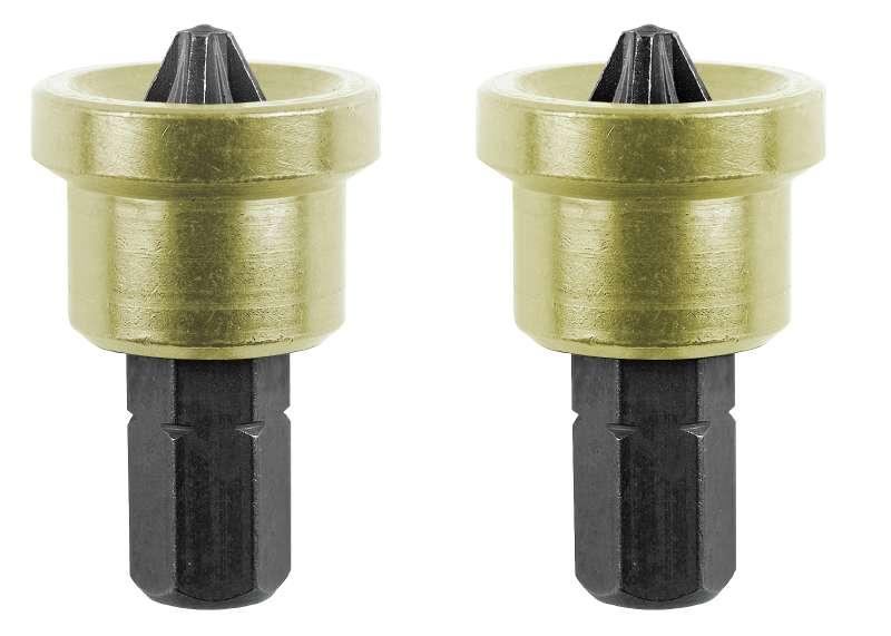 Бита KWB (104610) PZ2 25 мм с ограничителем (2 шт.)