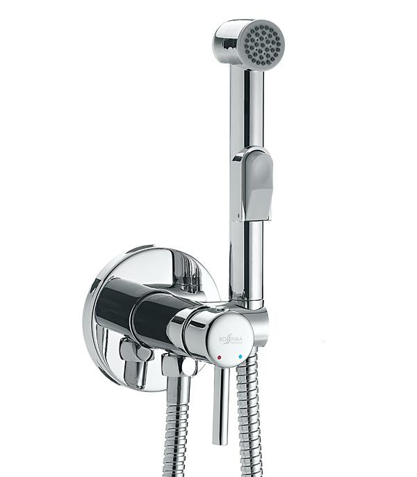 все цены на Смеситель с гигиеническим душем ROSSINKA X25-51 встраиваемый со скрытой частью в комплекте онлайн