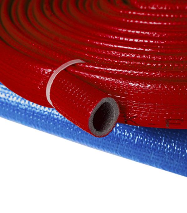 Теплоизоляция для труб K-FLEX ПЭ 28х4 мм бухта 10 м красная фото