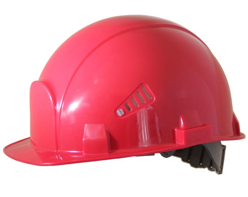 Каска защитная РОСОМЗ СОМЗ (75616) красная.