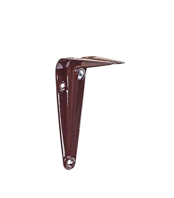 Консоль 75x100 мм коричневая