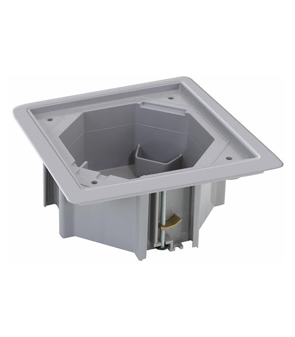 цена на Коробка монтажная под влагостойкую основу KSE в фальшпол Simon Connect KGE170TF-23 серая IP66