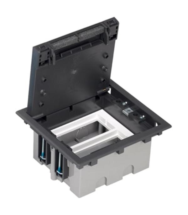 Фото - Люк для установки в фальшпол Simon Connect SF210-14 графит IP4X 170х155 мм глубина 90-120 мм мультимедия