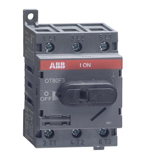 Рубильник ABB OT80F3 (1SCA105798R1001) 3P 80 А 690 В на DIN-рейку/монтажную плату фото