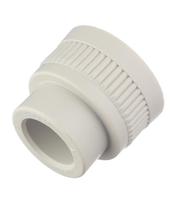 Муфта полипропиленовая FV-PLAST (217025) 25 мм х 3/4 ВР(г) серая
