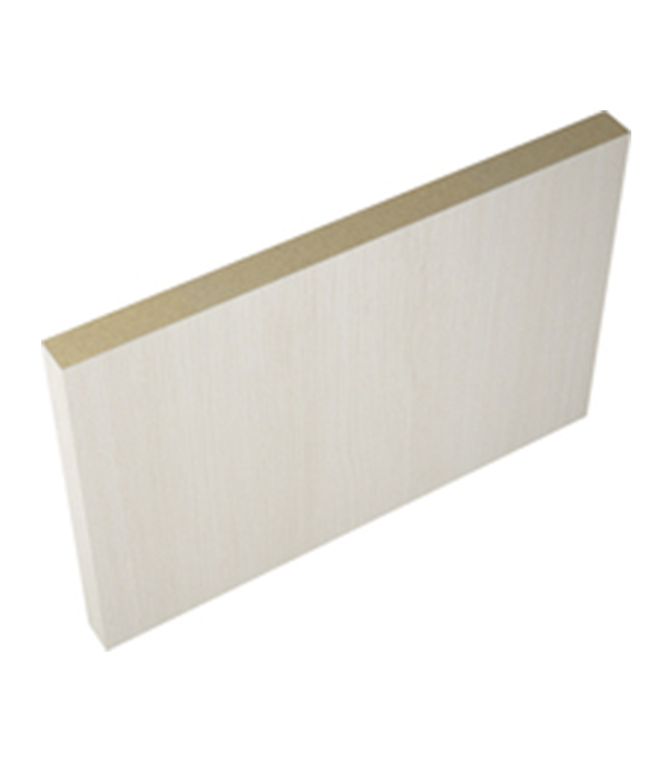 Фото - Доборная планка VellDoris INTERI 11 ламинированная финишпленка лиственница белая 100х10х2100 мм (1 шт.) дверное полотно velldoris interi 10 лиственница белая глухое ламинированная финишпленка 700x2000 мм