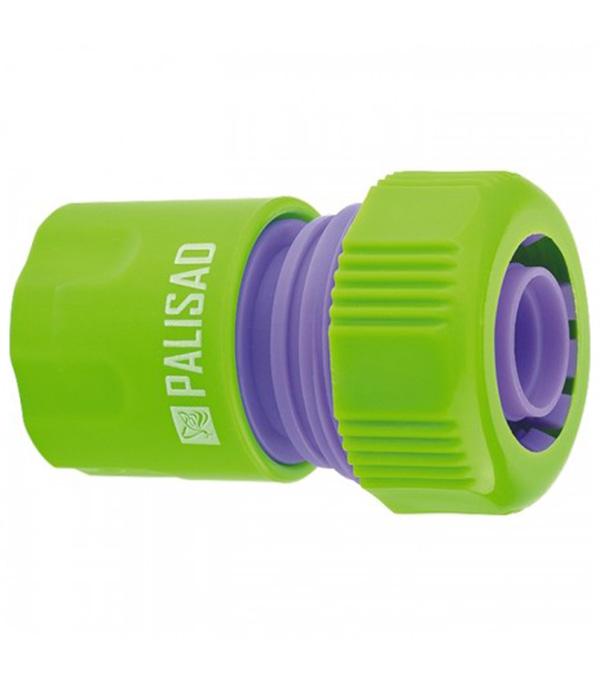 Фото - Соединитель пластмассовый быстросъемный PALISAD для шланга 3/4 соединитель для полива palisad латунный быстросъемный аквастоп 66265