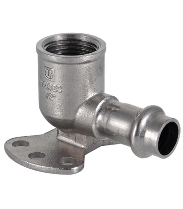 Водорозетка Valtec (VTi.954.I.001504) 15 мм х 1/2 ВР(г) нержавеющая сталь