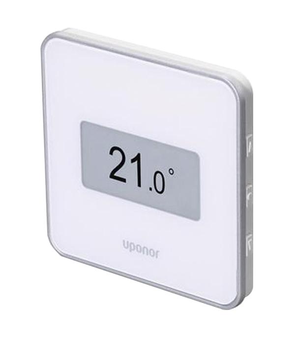 лучшая цена Термостат цифровой UPONOR SMATRIX WAVE +RH STYLE T-169 белый