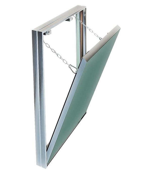 Люк ревизионный 400х600 мм под плитку алюминиевый Гиппократ-П Хаммер цена и фото