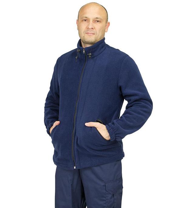 Фото - Толстовка флисовая 48-50 цвет синий джинсы мужские lee цвет синий l704aaui размер 33 34 48 50 34