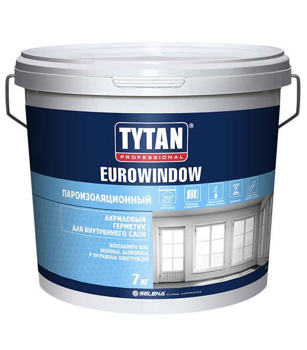 Герметик акриловый пароизоляционный внутренний Tytan Eurowindow белый 7 кг