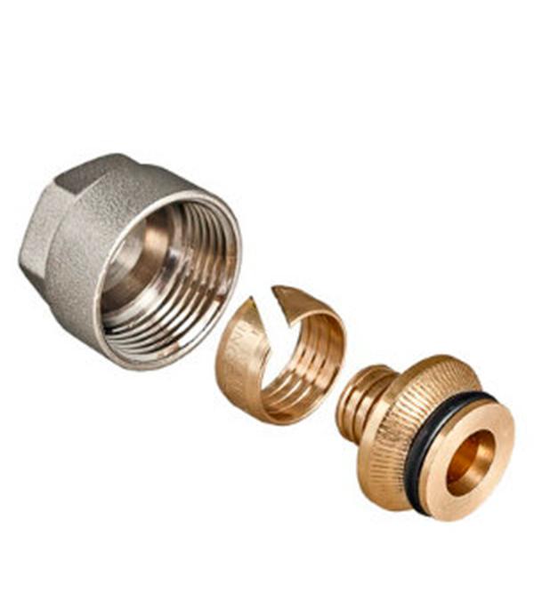 Евроконус VALTEC (VT.4410.NE.20) 20 обж(ц) х 3/4 ВР(г) для труб из сшитого полиэтилена 20х2 мм