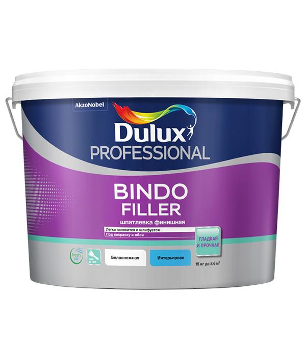 Шпатлевка финишная Dulux Bindo Filler 8.6 л стоимость