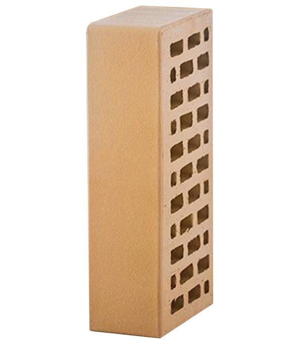 Кирпич лицевой пустотелый пшеничный М175 250х120х65 мм (1NF) ЛСР (ППКЗ)