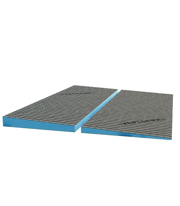 Фото - Плита теплоизоляционная Teplofom 2500х600х(20/10) мм с двухсторонним полимерцементным слоем с разуклонкой автомойки