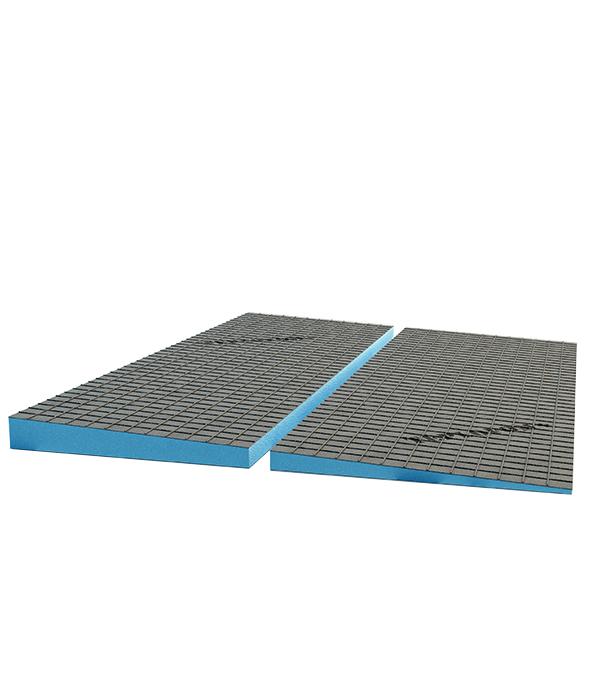 Фото - Плита теплоизоляционная Teplofom 2500х600х(40/30) мм с двухсторонним полимерцементным слоем  с разуклонкой автомойки