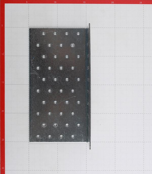Уголок соединительный оцинкованный 100х100х200х2 мм фото