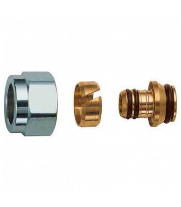 Евроконус для металлопластиковых труб Far (FC 6076 58802) 16 обж(ц) х 1/2 ВР(г)