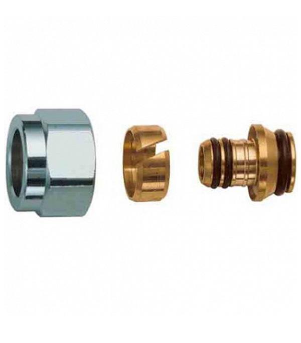 Евроконус FAR 16 обжимной (ц) х 3/4 внутренний (г) для металлопластиковых труб цена