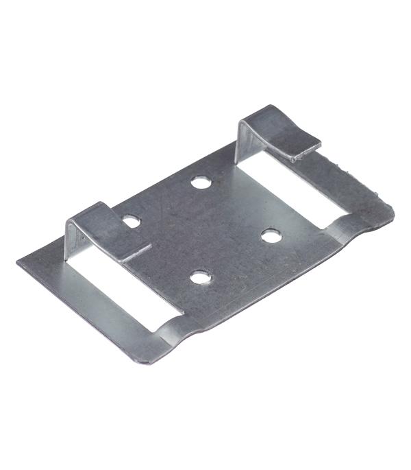 Кляймер для вентилируемых фасадов стартовый/финишный 72х40х1.2 мм (100 шт.)