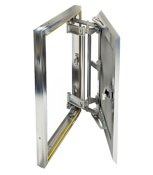 Люк ревизионный 500х800 мм под плитку алюминиевый Слава Хаммер цена и фото