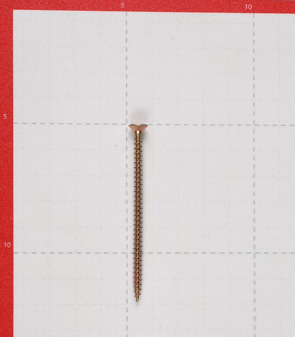 Саморезы универсальные 70x4.0 мм желтые (150 шт.)