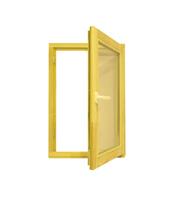купить Окно деревянное 860х570х45 мм 1 створка поворотная по цене 3190 рублей