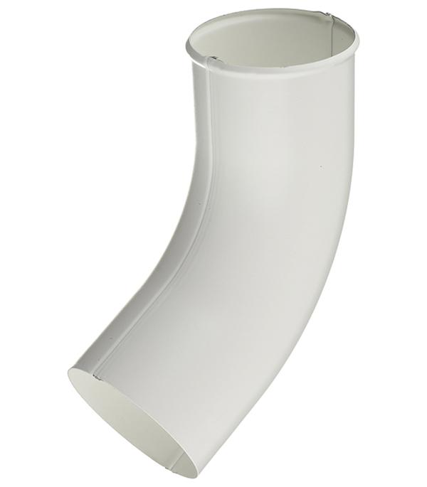 Колено стока металлическое Grand Line d90 мм белое колено стока металлическое отвод трубы d90 мм коричневое grand line