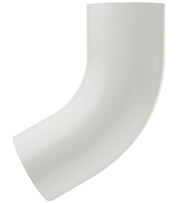 Колено трубы металлическое Grand Line d90 мм 60° белое колено стока металлическое отвод трубы d90 мм коричневое grand line