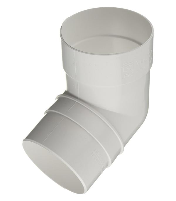 Колено трубы пластиковое Vinyl-On d90 мм 67° белое колено стока металлическое отвод трубы d90 мм коричневое grand line