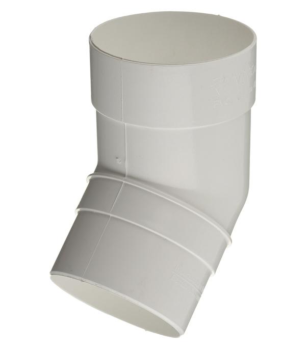 Колено трубы пластиковое Vinyl-On d90 мм 45° белое колено стока металлическое отвод трубы d90 мм коричневое grand line