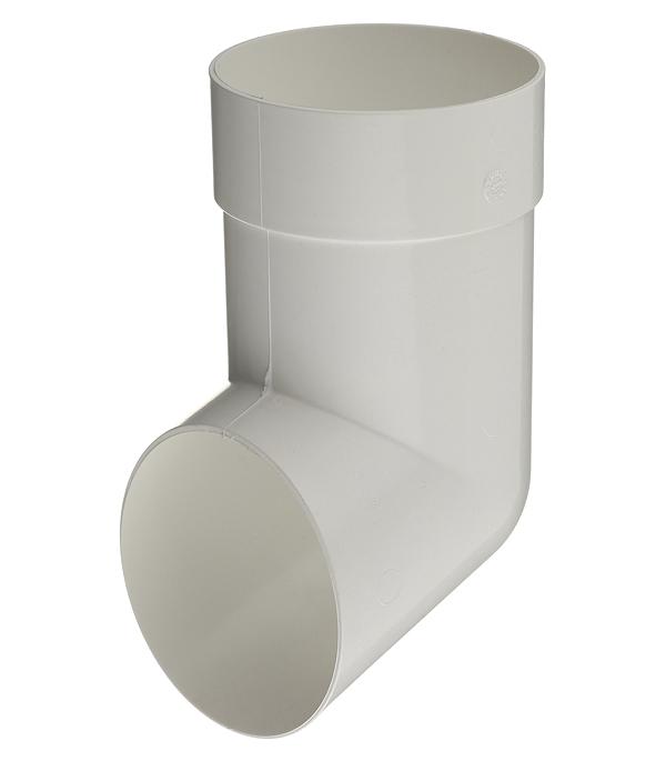 Колено стока пластиковое Vinyl-On d90 мм белое колено стока металлическое отвод трубы d90 мм коричневое grand line