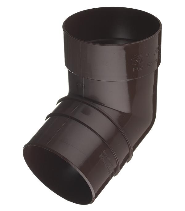 Колено трубы пластиковое Vinyl-On d90 мм 67° коричневое (кофе) колено стока металлическое отвод трубы d90 мм коричневое grand line