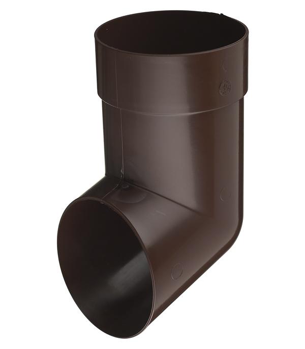 Колено стока пластиковое Vinyl-On d90 мм коричневое (кофе) колено стока металлическое отвод трубы d90 мм коричневое grand line