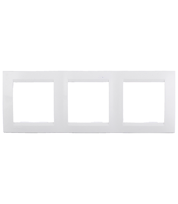 Рамка Simon 15 1500630-030 трехместная универсальная белая рамка simon 15 1500620 030 2 я белая