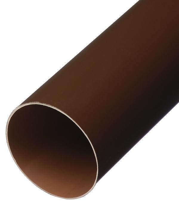 Труба водосточная пластиковая Vinylon d90 мм 4 м кофе RAL 8017
