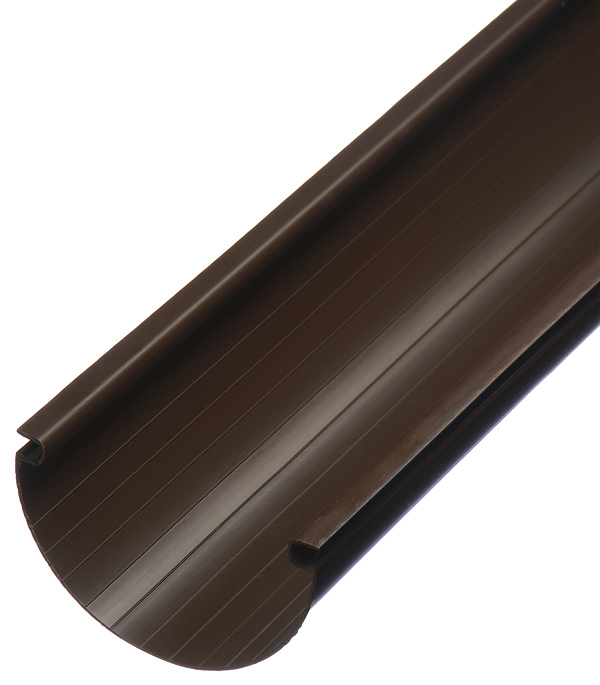 Желоб водосточный Vinylon пластиковый d125 мм 4 м кофе RAL 8017 стоимость