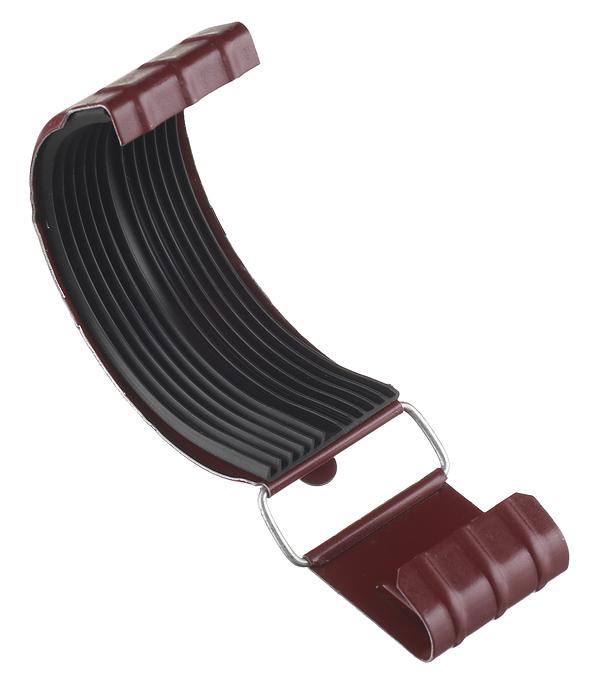 Соединение желоба Grand Line металлическое d125 мм красное вино RAL 3005 цена