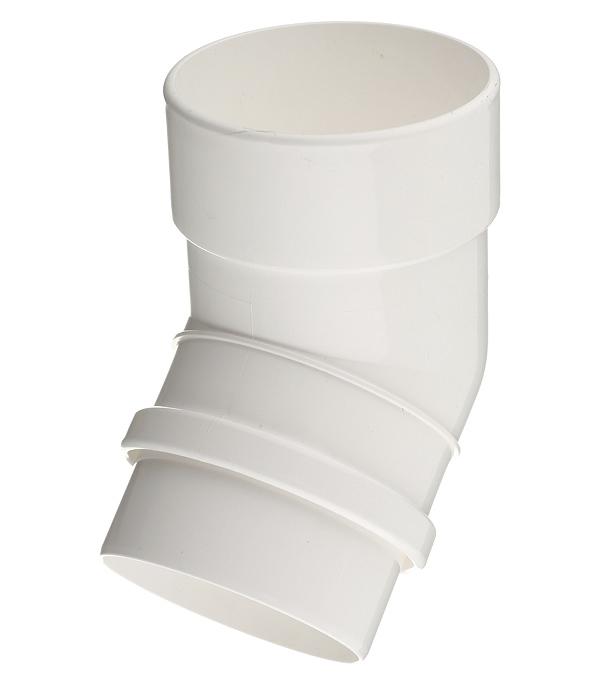 Колено трубы Docke Lux пластиковое d100 мм 45° пломбир RAL 9003 цена