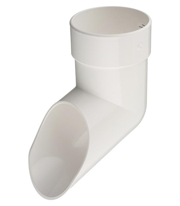 Колено стока Docke Lux пластиковый d100 мм пломбир RAL 9003 цена