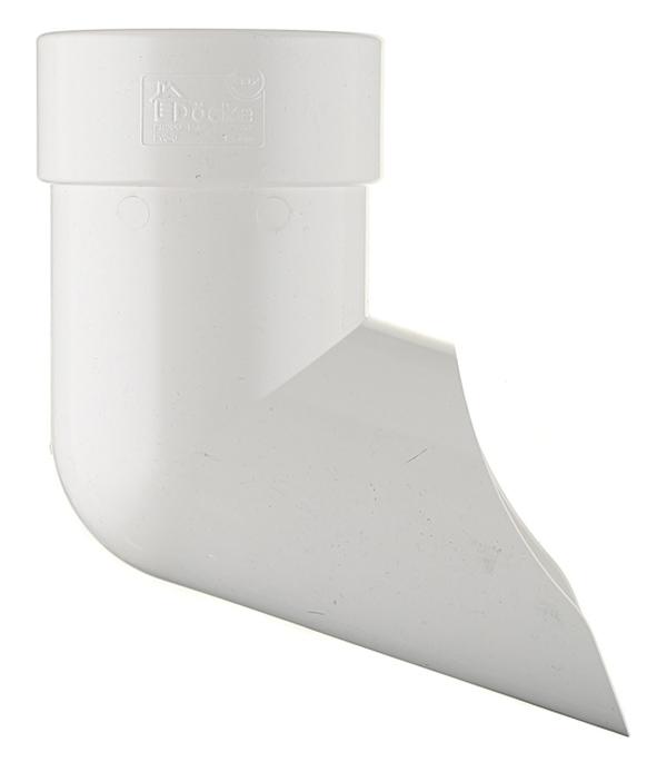 Колено стока Docke Lux пластиковый d100 мм пломбир RAL 9003