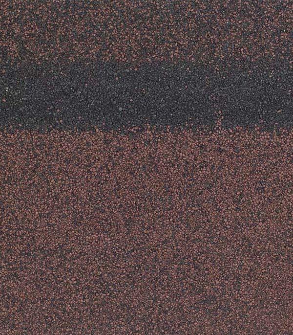 Черепица гибкая коньково-карнизная ШИНГЛАС коричневый/агат/мускат 5 кв.м стоимость