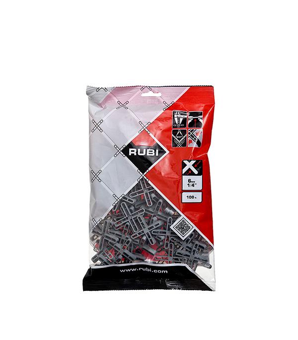 Крестики для плитки Rubi 6 мм (100 шт) крестики для плитки 1 5 мм 300 шт rubi