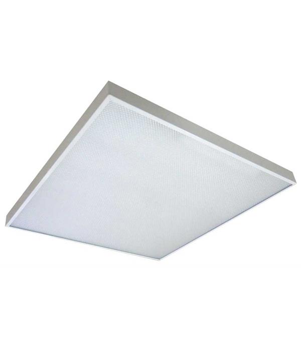 Светильник светодиодный встраиваемый/накладной SVET 596х596х20 мм 4х8 Вт 220 В 6000 К холодный свет матовый квадратный IP40