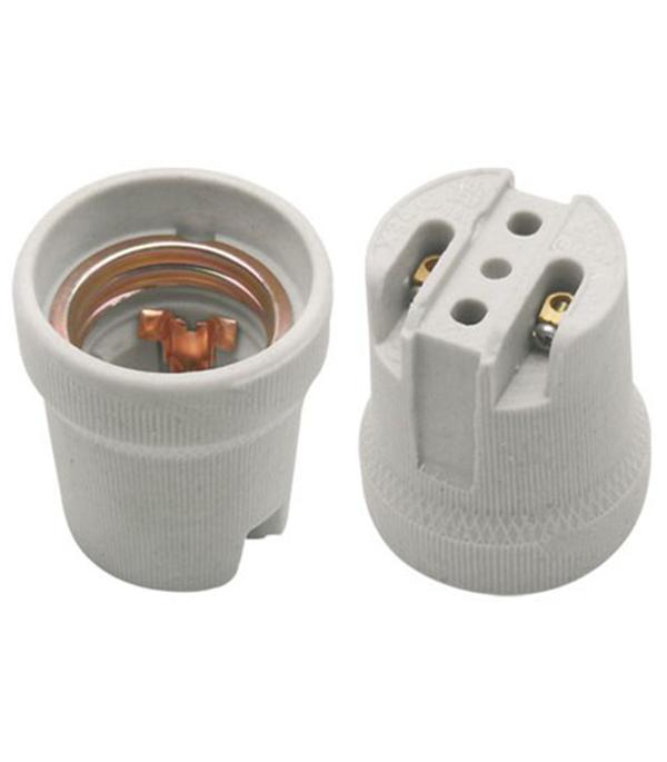 Патрон для лампы Е27 SVET керамический фото