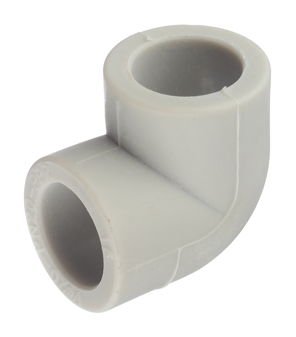цена на Угол полипропиленовый 20 мм, 90° FV-PLAST серый
