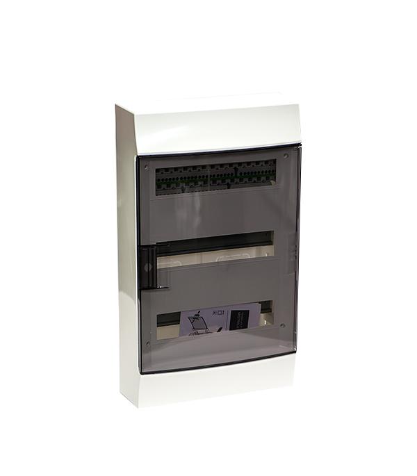 Щиток навесной Mistral для 36 модулей пластиковый 512х297х119 мм IP41 ABB щиток встраиваемый abb mistral для 24 модулей пластиковый 435х320х107 мм ip41