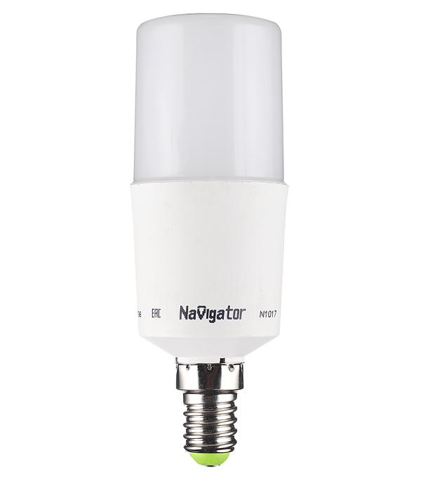 цена на Лампа светодиодная Navigator 10 Вт Е14 трубка T39 4000 К дневной свет 176-264 В матовая