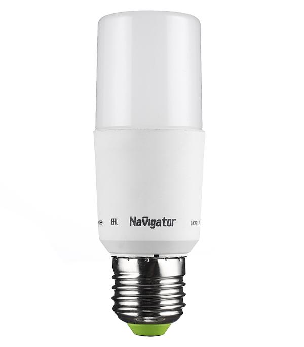 цена на Лампа светодиодная Navigator 10 Вт Е27 трубка T39 4000 К дневной свет 176-264 В